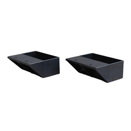 RoomClip商品情報 - LABRICO(ラブリコ) 2×4材専用棚受 シングルタイプ マットブラック(限定色) DXK-2 2 個入