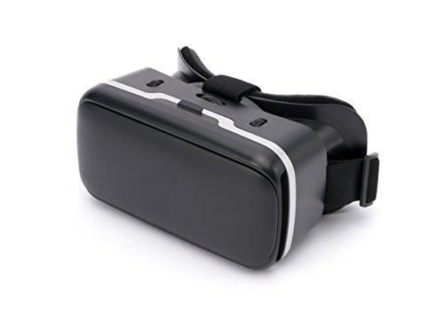 ハコスコDX2 2.0 VRゴーグル ヘッドセット メガネ 3D 動画 ゲーム 映画 iPhone&Androidスマホ3.5~6インチサイズ対応 瞳孔間距離・左右の焦点それぞれ調整可能 メガネ装着可能 頭部装着快適ヘッドバンド付き