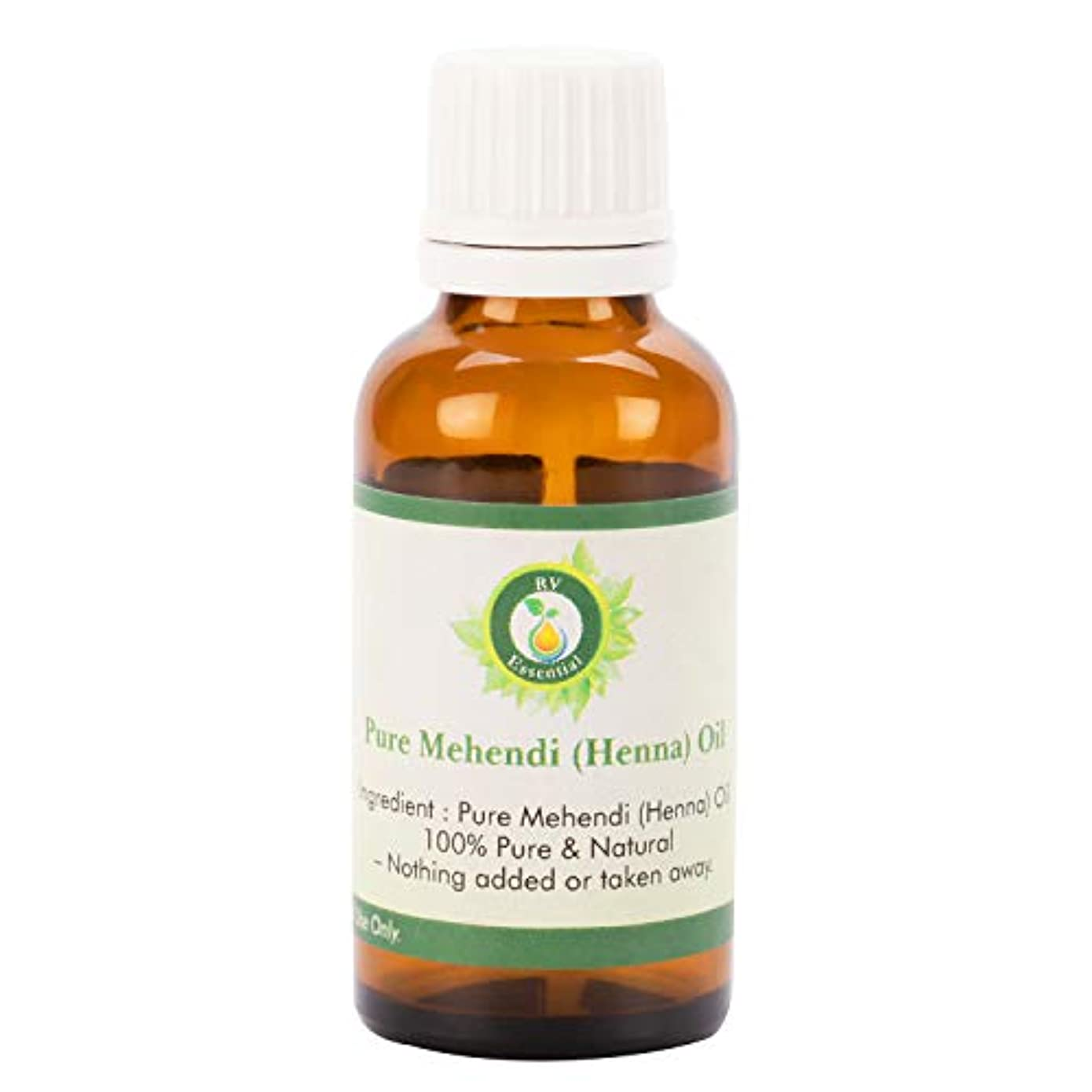ルネッサンスしない性別ピュアMehendi(ヘナ)オイル100ml (3.38oz)- (100%純粋でナチュラル) Pure Mehendi (Henna) Oil