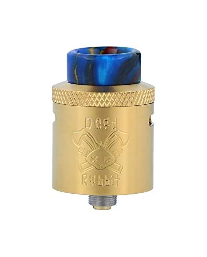 任命従順イノセンスHELLVAPE DEAD RABBIT RDA デッドラビット VAPE 電子タバコ アトマイザー (Gold)