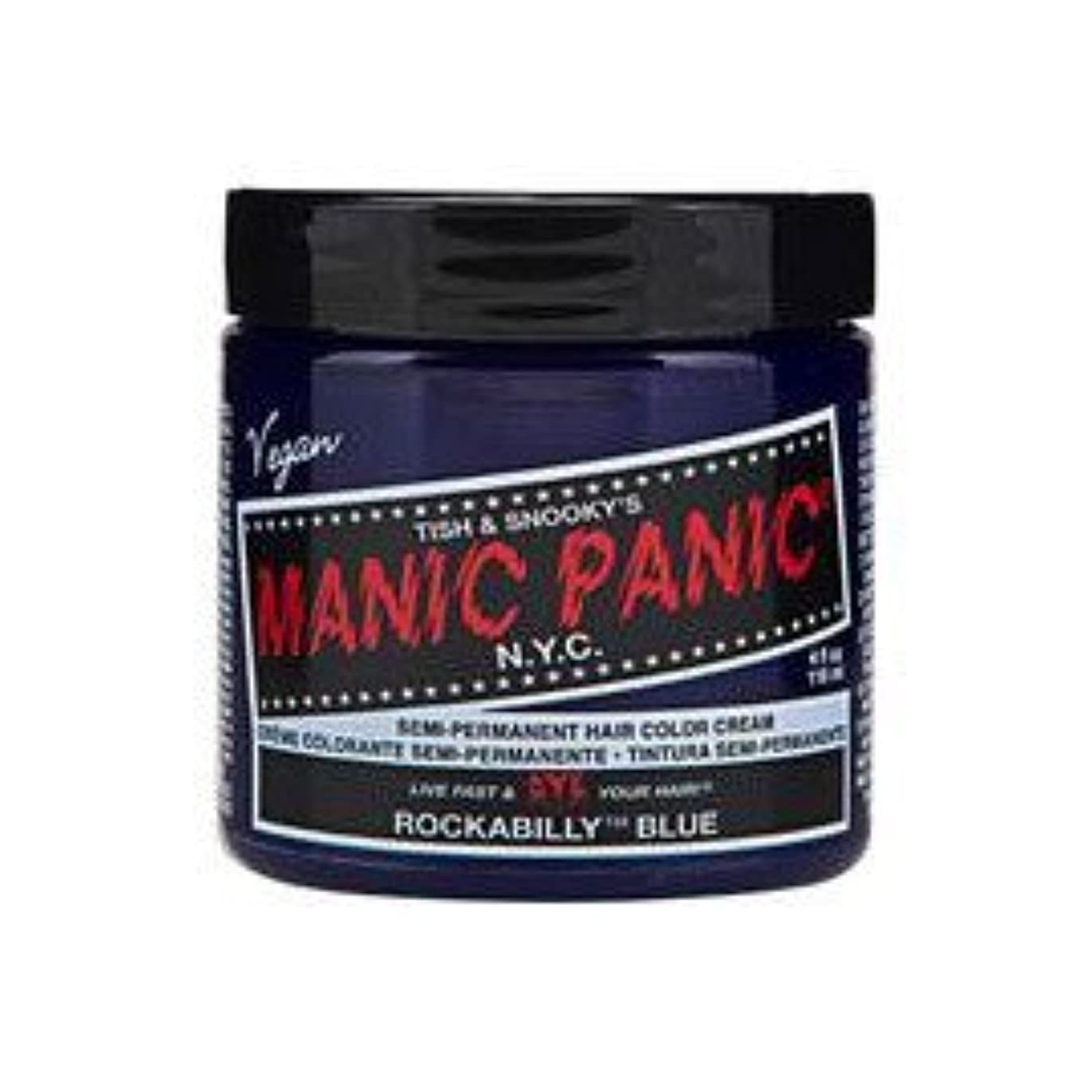 結び目軍タイプMANIC PANIC マニックパニック Rockabilly Blue ロカビリーブルー 118ml
