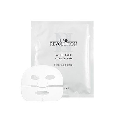 Missha Time Revolution White Cure Hydro Gel Mask 5ea ミシャ タイムレボリューション ホワイトキュア ハイドロ ゲルマスク 5枚 [並行輸入品]