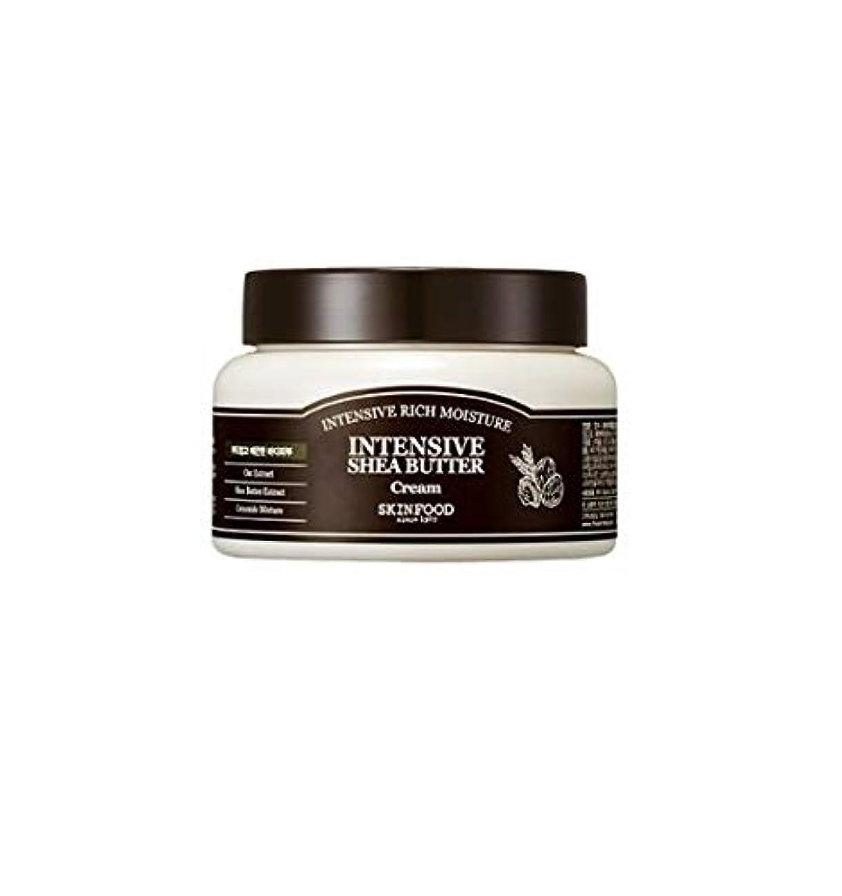 口実縮約トロリーSkinfood 集中シアバタークリーム/Intensive Shea Butter Cream 225ml [並行輸入品]