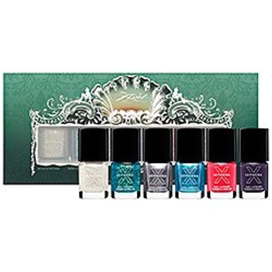 イソギンチャクジェスチャープレゼンテーションDisney Sephora Ariel Whatcha-Nail-Callit 6 Piece Nail Set (ディズニー セフォラ アリエル ネイル カラー 6点セット)