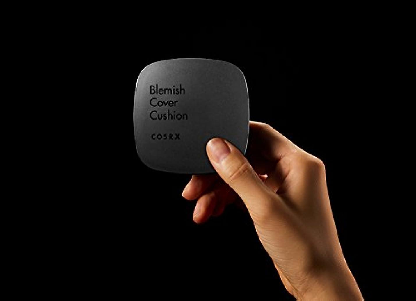 賠償地区繊維[ RENEWAL!! ] COSRX Clear Cover Blemish Cushion 15g/COSRX クリアカバー ブレミッシュ クッション 15g (#21 bright) [並行輸入品]