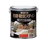 ロックペイント 水性ナフタデコール ロックペイント 水性防腐・防虫ステイン 0.7L ブラウン