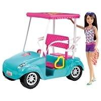バービー Her Sisters Are On A Tropical Vacation - バービー Sisters Golf Cart Skipper ドール 131002fnp [並行輸入品]