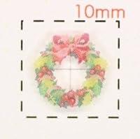 リース【クリスマス ネイル&デコシール】(2)/1シート9枚入