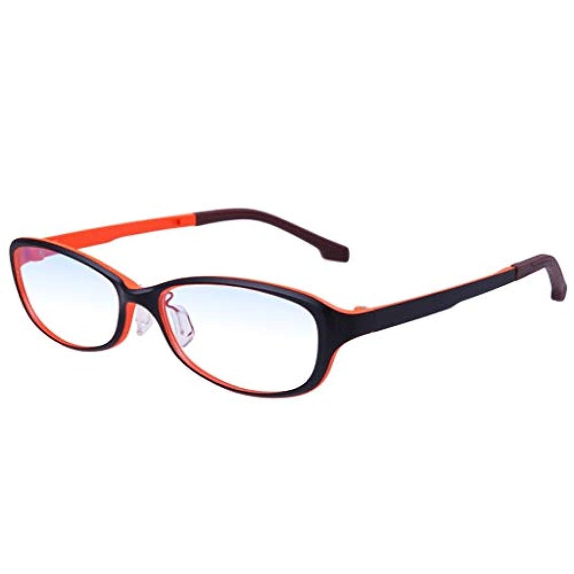 LCSHAN ファッション超軽量老眼鏡女性アンチブルーライトスマートマルチフォーカス遠近両用ズーム (Color : 200 degrees)