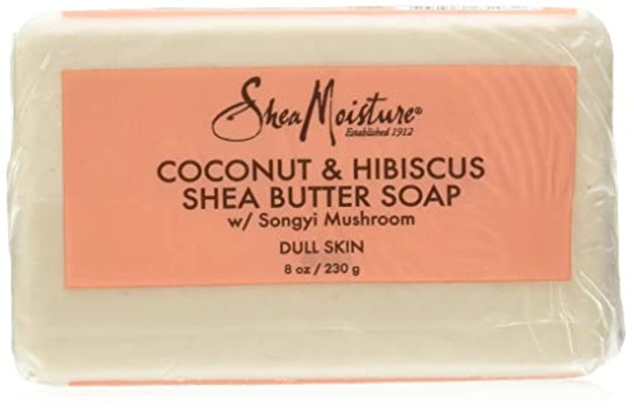 Shea Moisture Coconut Hibiscus Bar Soap- 235 ml by Shea Moisture