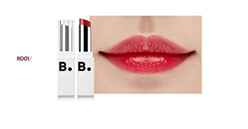 モノグラフモノグラフ信頼性のあるbanilaco リップドローメルティングセラムリップスティック/Lip Draw Melting Serum Lipstick 4.2g #SRD01 Gun Red [並行輸入品]