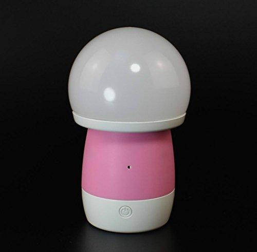 EBAT ベッドサイドランプ USB充電...