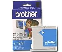 Brother純正ブランド名、OEM lc51C (lc-51C) シアンインクジェットカートリッジ(400Yld) for dcp-130C, Intellifax 1860C、mfc-240C、mfc-440cn、mfc-665cw、mfc-3360C、mfc-5460cn、mfc-5860cnプリンタ