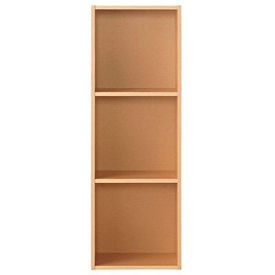 RoomClip商品情報 - 無印良品 パルプボードボックス・タテヨコA4サイズ・3段・ベージュ (3段)37.5×29×109cm 日本製