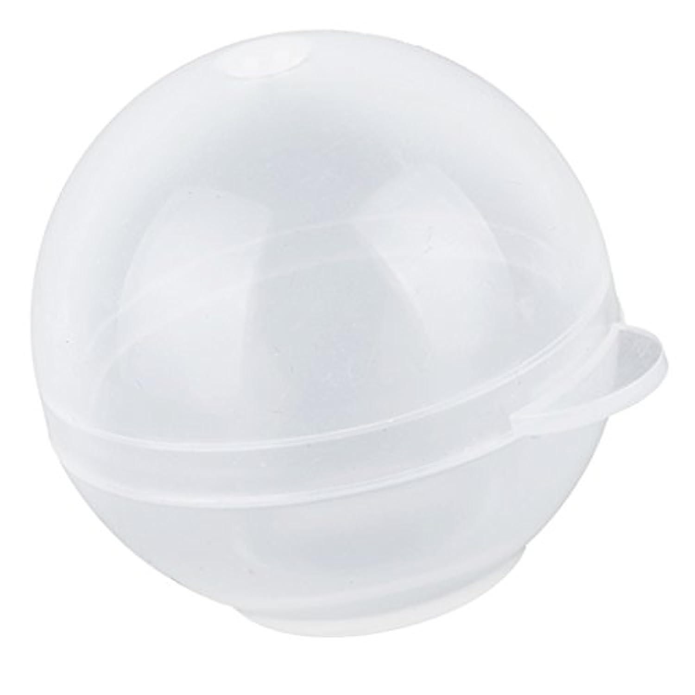 Sharplace シリコーンモールド 球形透明ケース DIYモールド 手作り 家の装飾 DIYクラフト 30mm