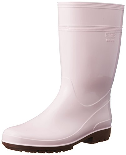 ミドリ安全 ハイグリップ長靴 27cm ピンク HG2000...