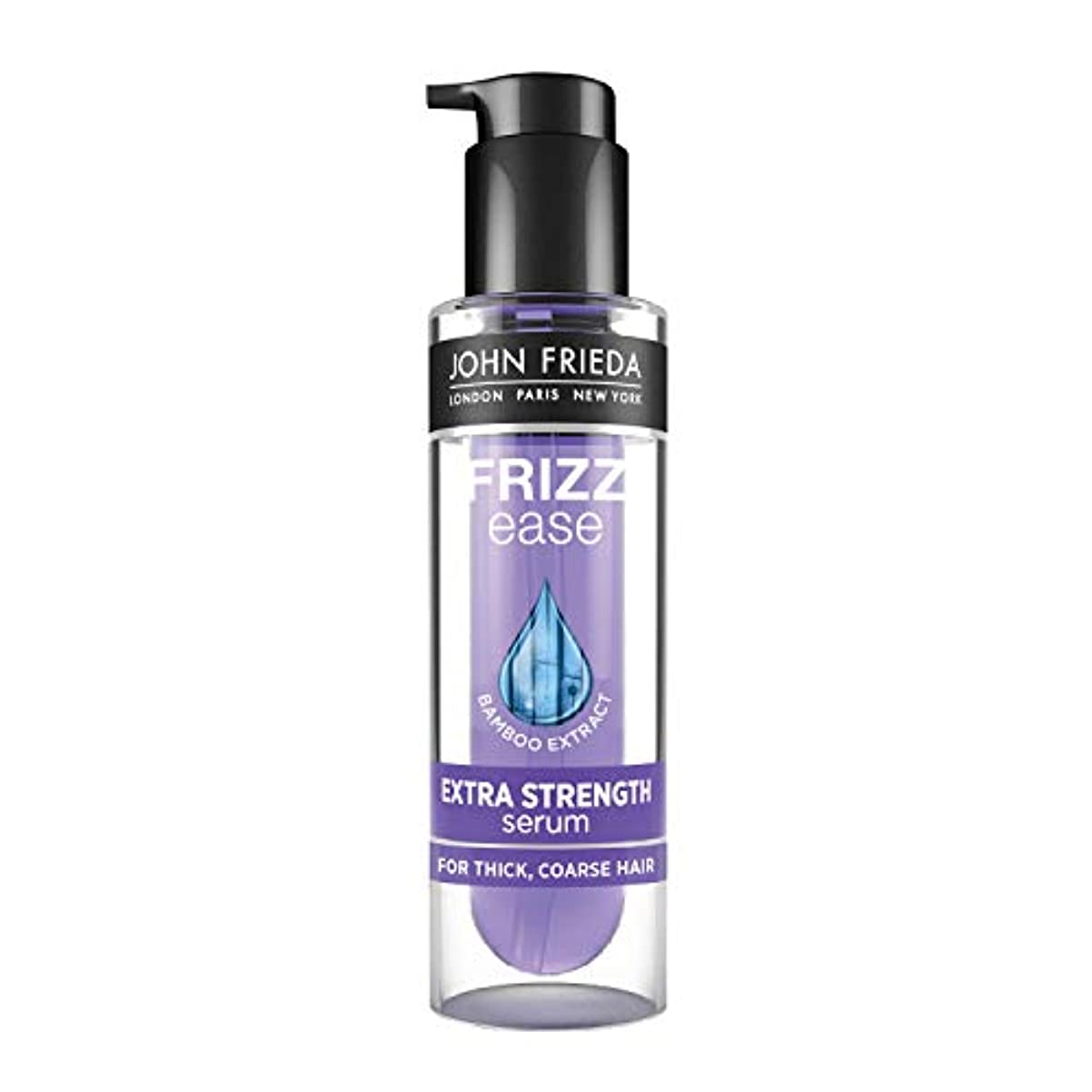 人工的な偽物息を切らしてJohn Frieda Frizz Ease Extra Strength 6 Effects Serum 50 ml