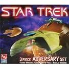 スタートレック 異星人宇宙船3隻セット