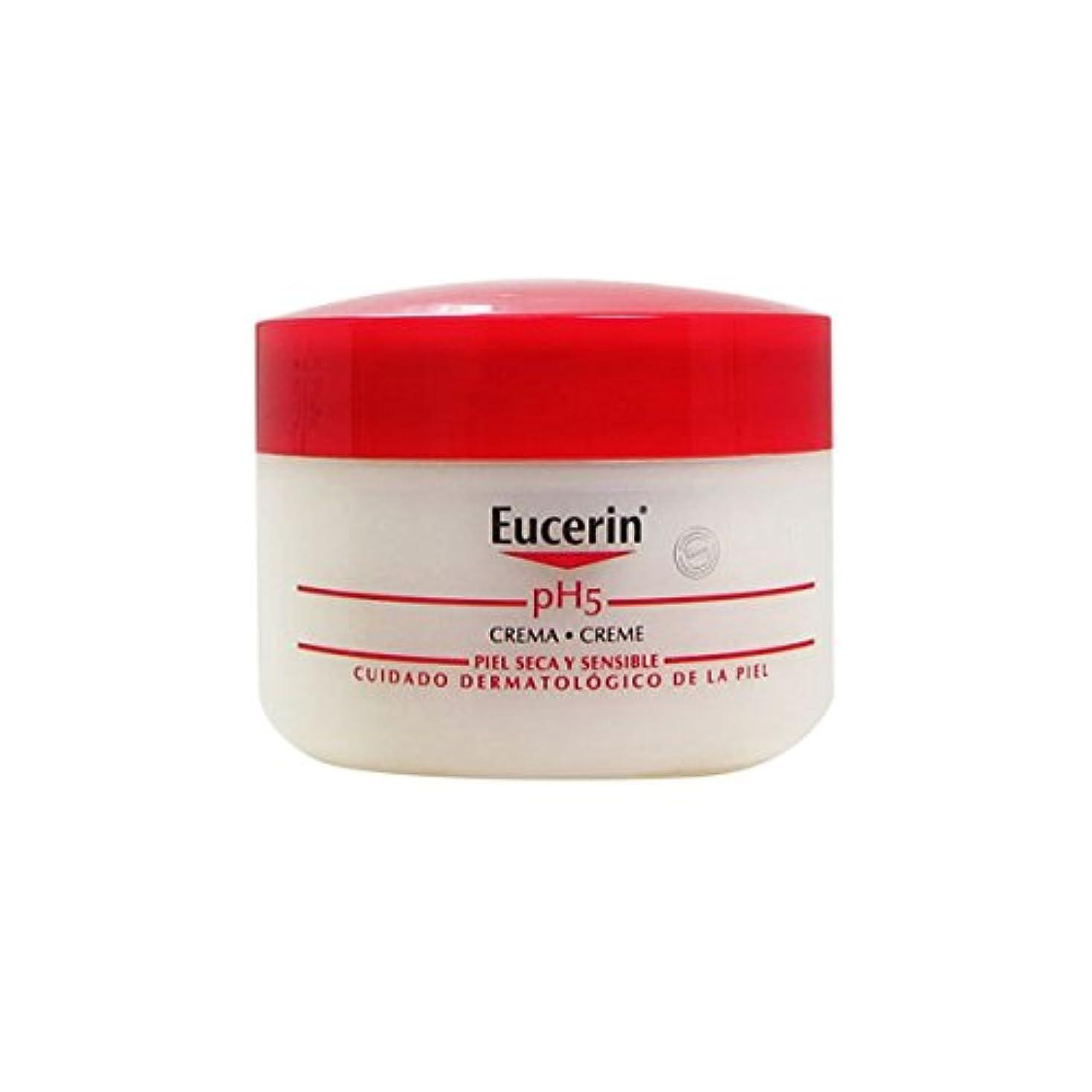 華氏予想外寛大さEucerin Ph5 Sensitive Skin Cream 75ml [並行輸入品]