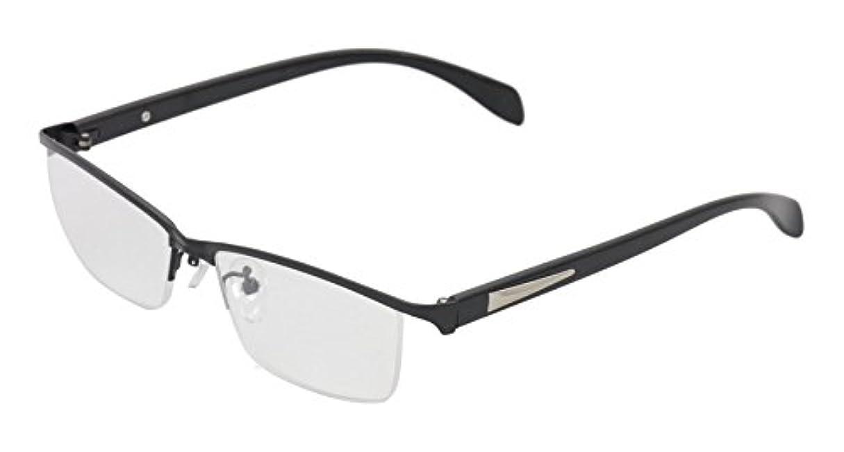 モーター三粒ReD(レッド) 老眼鏡 リーディンググラス 度数 +1.50 CLAW ブラック