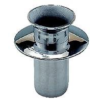 お墓用線香立て 高級ステンレス製 差し込み式 ツバ付タイプ 筒径:18mm(深穴用) [ステン線香立(S45ツバA)]