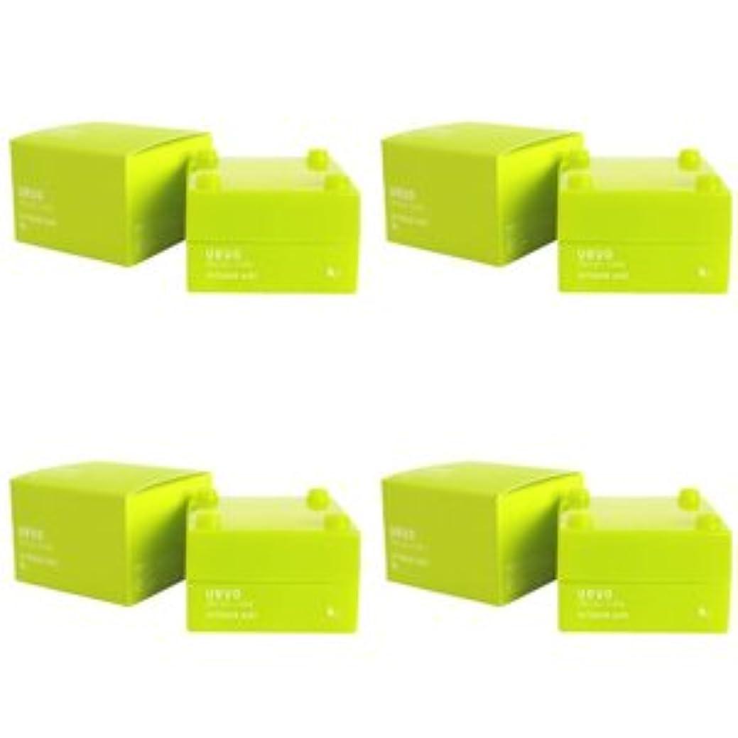 受け入れ結婚した回復【X4個セット】 デミ ウェーボ デザインキューブ エアルーズワックス 30g airloose wax DEMI uevo design cube