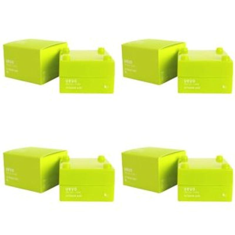 デッキ束子音【X4個セット】 デミ ウェーボ デザインキューブ エアルーズワックス 30g airloose wax DEMI uevo design cube