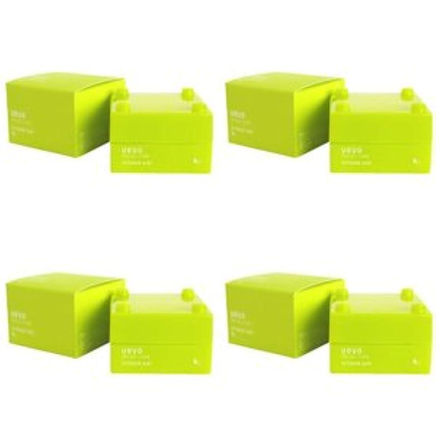 広く強化手のひら【X4個セット】 デミ ウェーボ デザインキューブ エアルーズワックス 30g airloose wax DEMI uevo design cube
