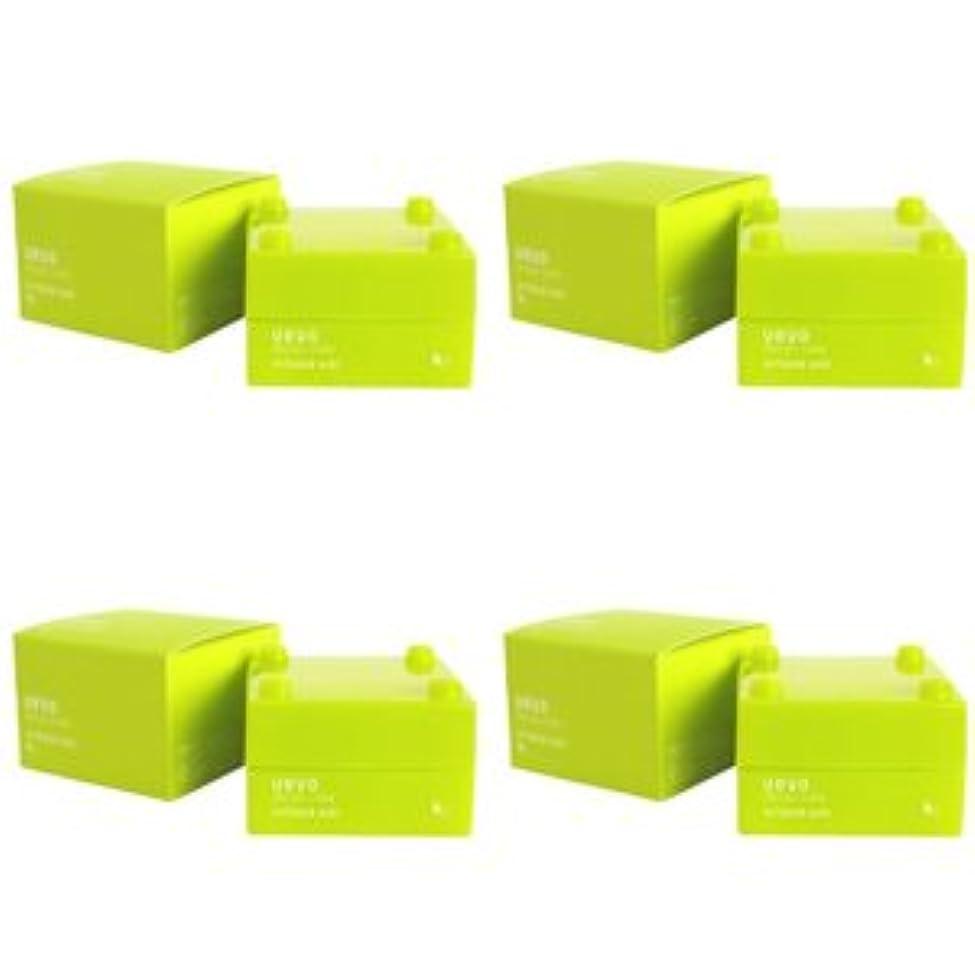 中で後世厳【X4個セット】 デミ ウェーボ デザインキューブ エアルーズワックス 30g airloose wax DEMI uevo design cube