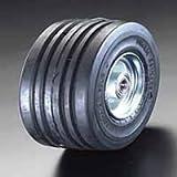ESCO (エスコ)250x 85mm 車輪(エラスティックタイヤ・スチールリム・ベアリングEA986MM-250