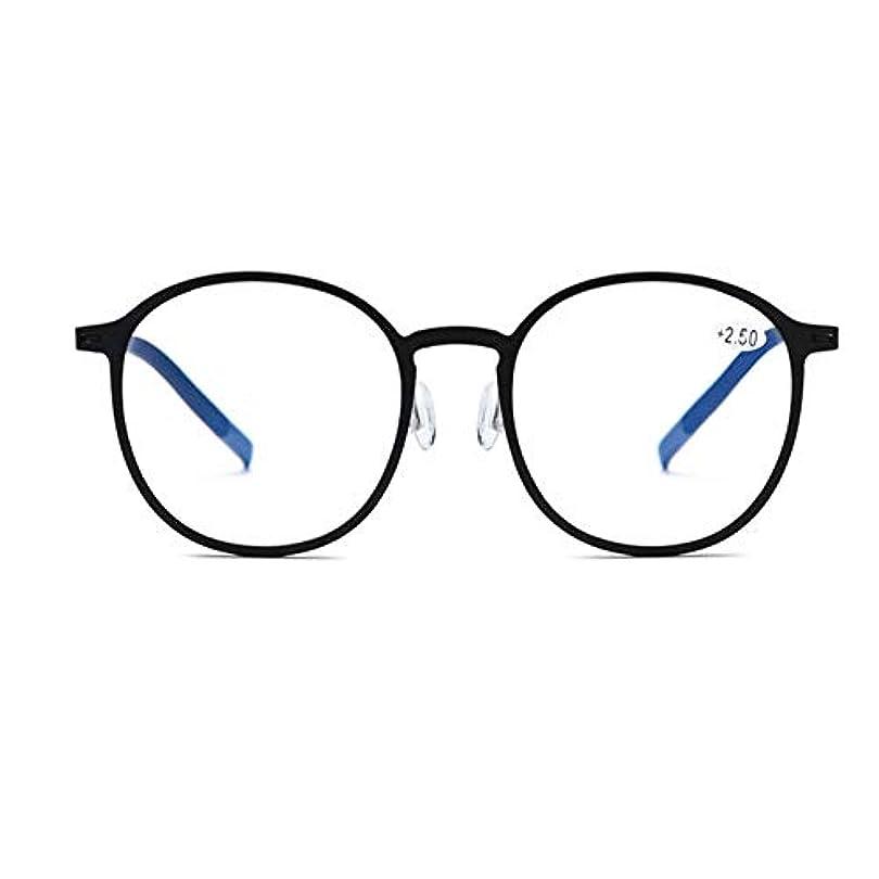 耐放射線老眼鏡、アンチブルーレイHD TR 90アンチブルーライトアンチUV耐摩耗性フルフレームメガネ、男性と女性の超軽量ポータブル抗疲労メガネ