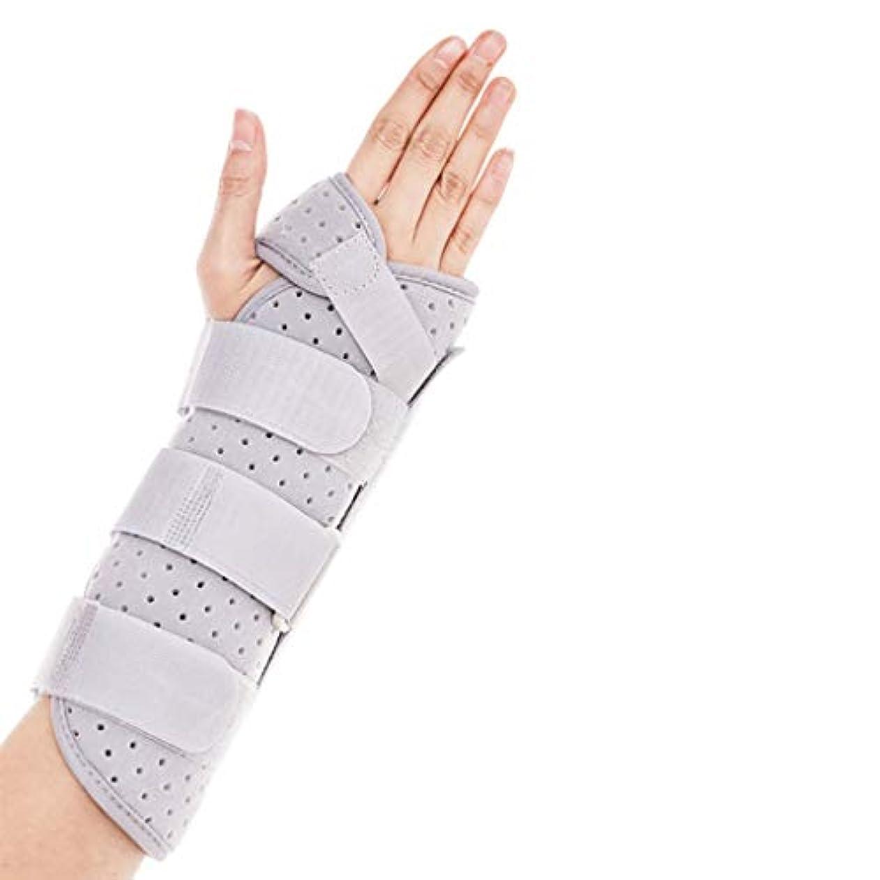 悪い仕様バンドル引き金のための指の袖サポートプロテクター指マレット指指のナックル固定指骨折創傷術後のケアと痛みの軽減,L