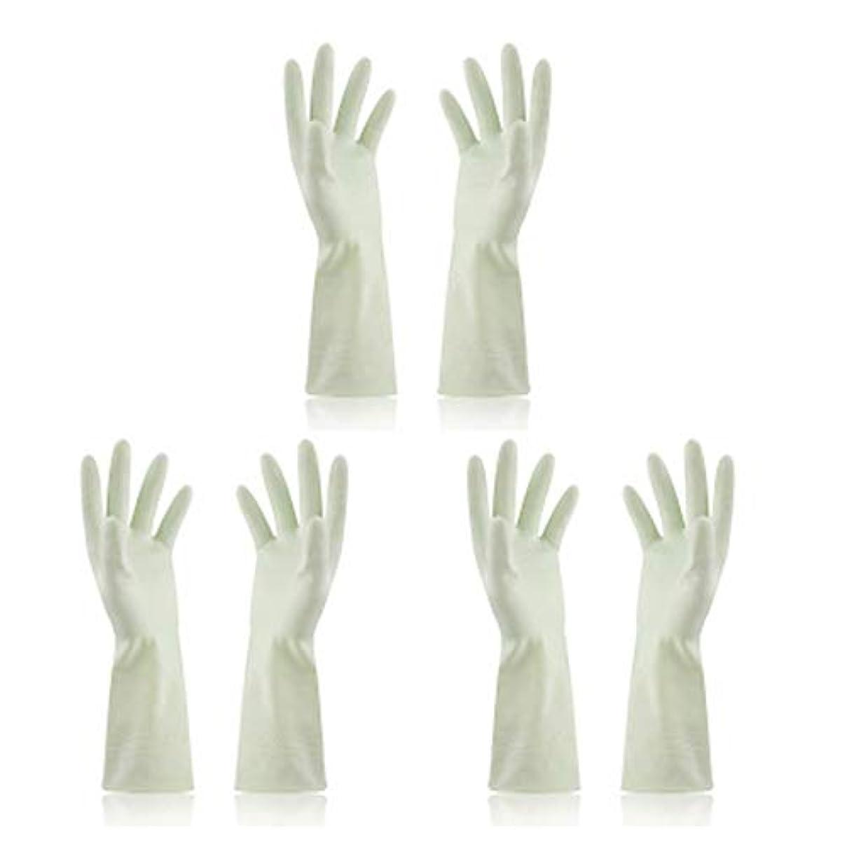 アフリカバルーンファンブルBTXXYJP キッチン用手袋 手袋 食器洗い 炊事 作業 食器洗い 掃除 園芸 洗車 防水 防油 手袋 (Color : Green, Size : M)