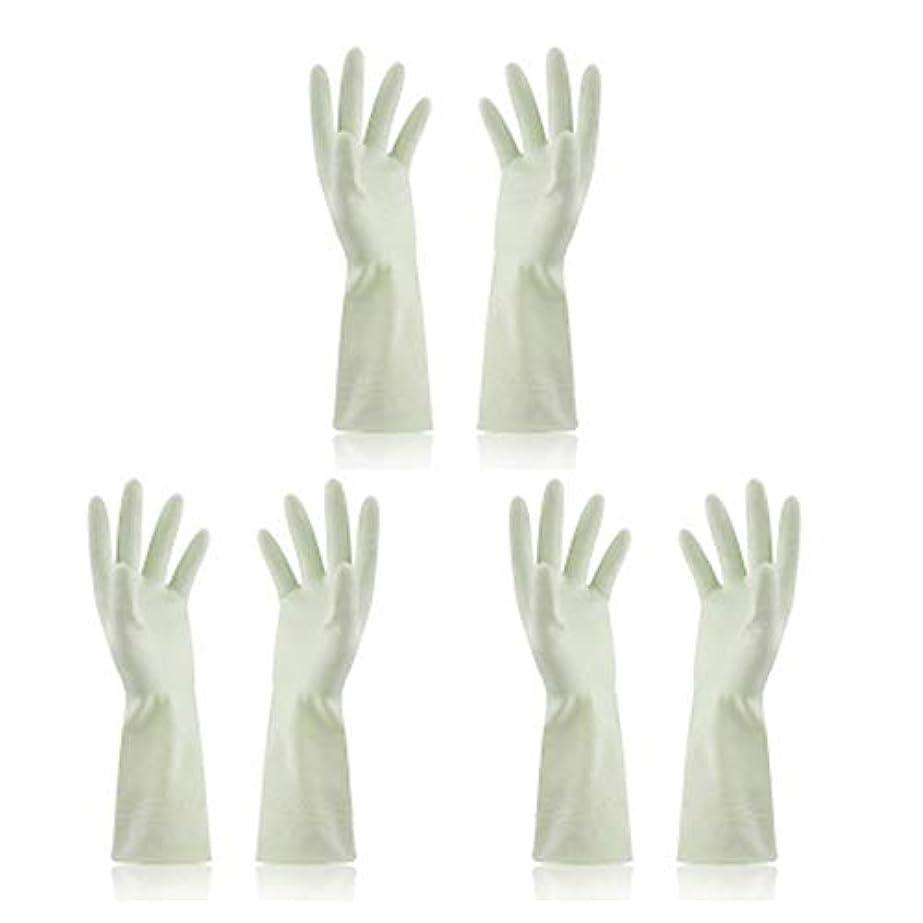飼い慣らす宿命意図BTXXYJP キッチン用手袋 手袋 食器洗い 炊事 作業 食器洗い 掃除 園芸 洗車 防水 防油 手袋 (Color : Green, Size : M)
