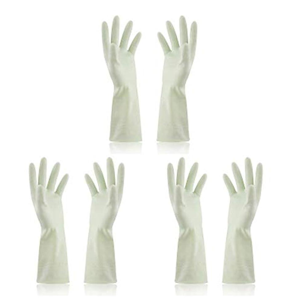 一般的に自動化チーズBTXXYJP キッチン用手袋 手袋 食器洗い 炊事 作業 食器洗い 掃除 園芸 洗車 防水 防油 手袋 (Color : Green, Size : M)