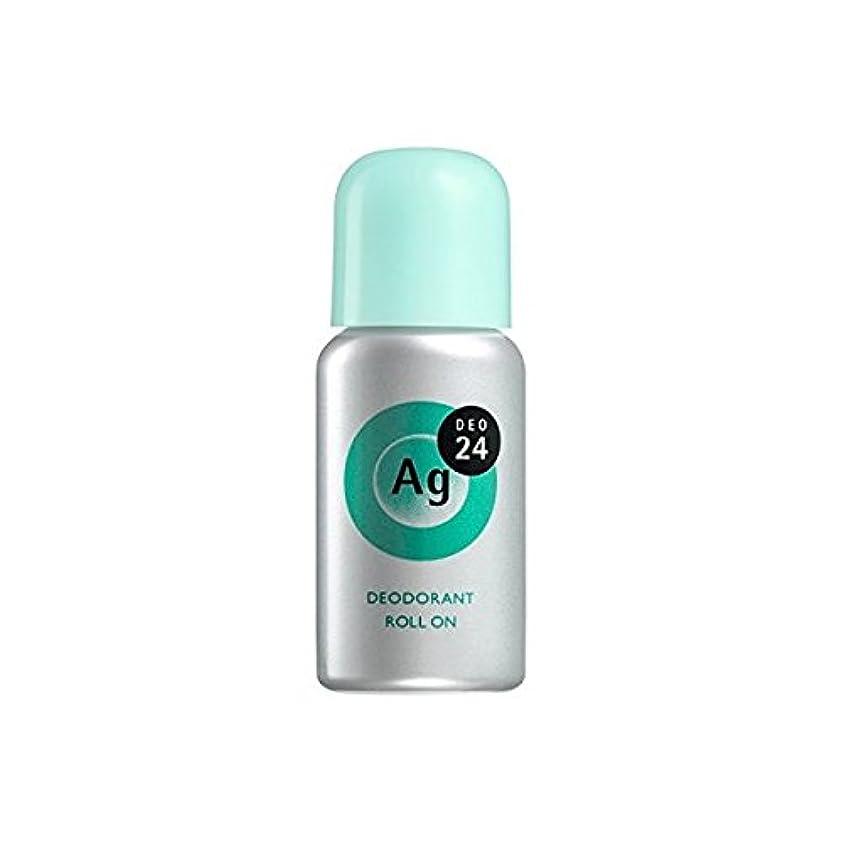 プラスチック驚き起きるエージーデオ24 デオドラントロールオンEX ベビーパウダーの香り 40mL