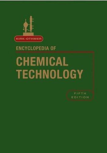 Kirk-Othmer Encyclopedia of Chemical Technology, 27 Volume Set