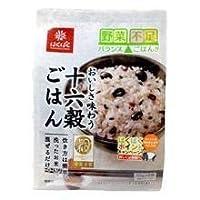 【黒米・発芽玄米などをミックス】はくばく おいしさ味わう十六穀ごはん180g(30g×6袋)×6点セット