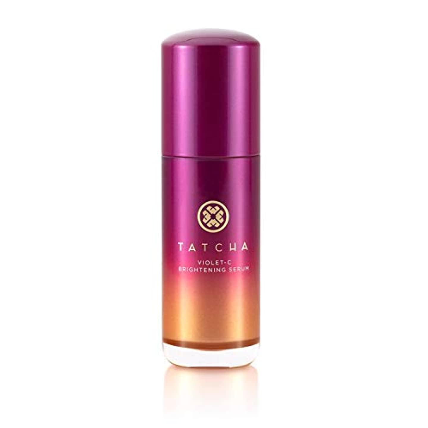 知り合いになる純粋に枯渇するTATCHA Violet-C Brightening Serum (20% Vitamin C + 10% AHA) タチャ バイオレットC ブライトニング セラム 美容液 30ml