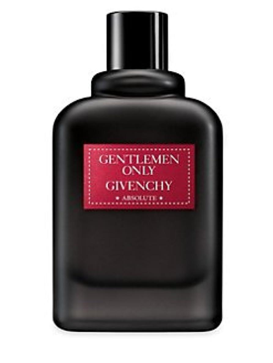 誇りに思う教師の日悪質なGentlemen Only Absolute (ジェントルマン オンリー アブソルート) 3.3 oz (100ml) Absolute Spray by Givenchy for Men