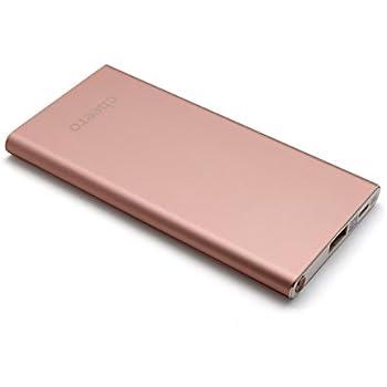 cheero Slim 5300mAh (ローズゴールド) 薄型モバイルバッテリー【PSE取得済】Auto-IC機能搭載 急速充電対応 アルミボディー CHE-075-RG