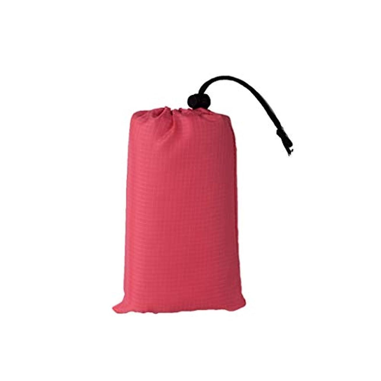 テクスチャーまばたきノートJucaiyuan ピクニックマット、キャンプ用毛布、屋外用防水折りたたみ式ビーチマット (色 : Rose pink, Size : 200x140)
