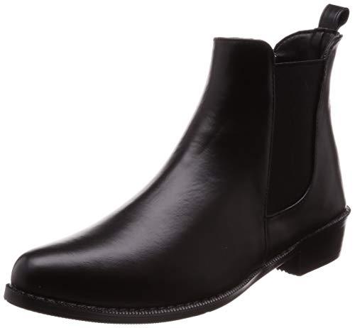 [オリエンタルトラフィック] ブーツ 雨 ショート レイン 長靴 レディース R-0009 BLACK Others L(24.0~24.5 cm) E