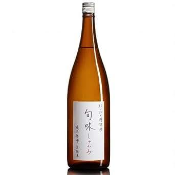 金寶仁井田本家 福島県 料理酒 『旬味』 純米原酒 1.8L