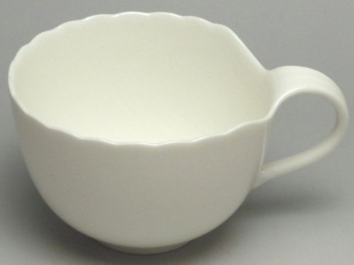 【B級品】木の葉(白) コーヒーカップ