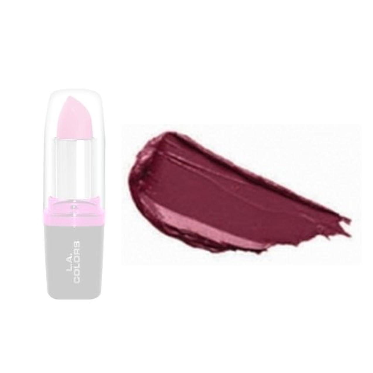 バックアップ分布推進、動かすLA Colors Hydrating Lipstick - Merlot (並行輸入品)