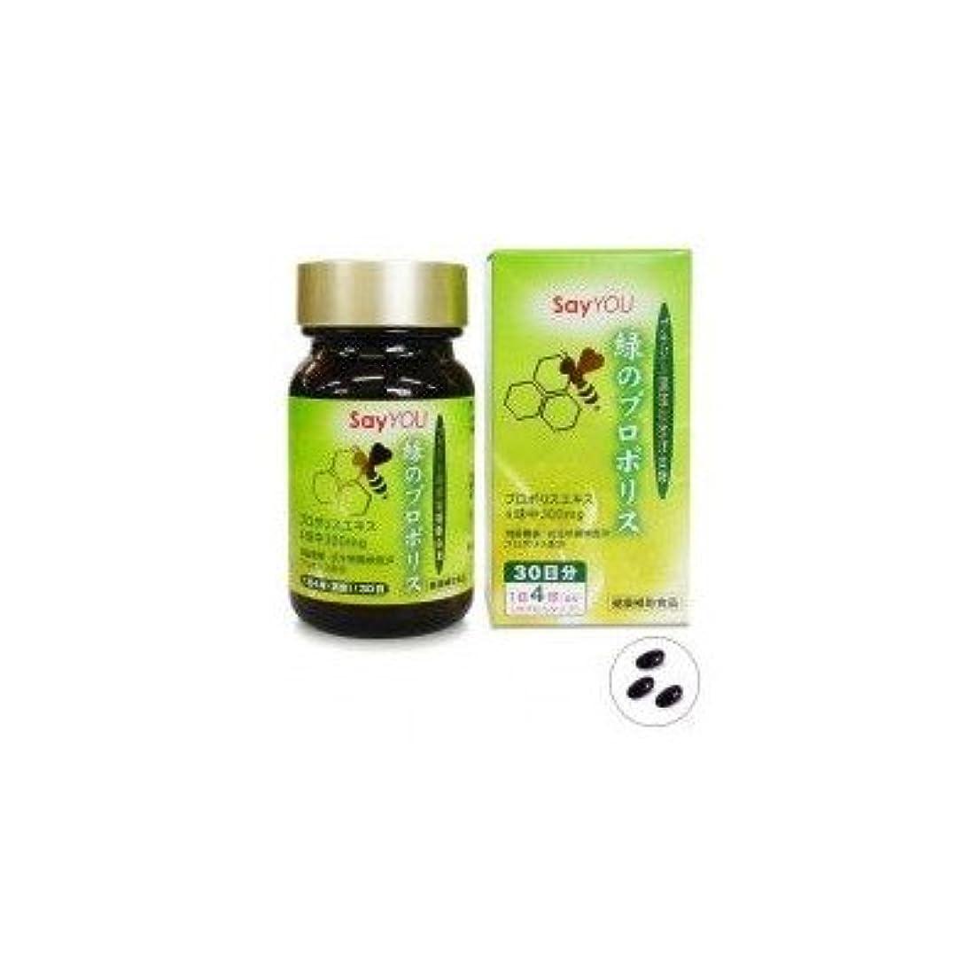 緑応科学 緑のプロポリス 46.8g(390mg×120球)