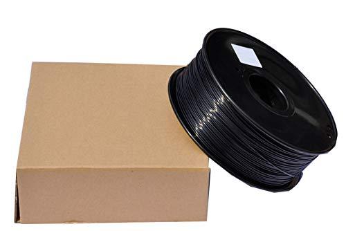 3Dプリンタ- 専用 フィラメント (PLA樹脂) 【ブラック】
