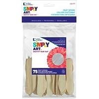 Bulk Buy: Loew-Cornell Craft Spoons 3 5/8 75/Pkg 1021177 (6-Pack) [並行輸入品]