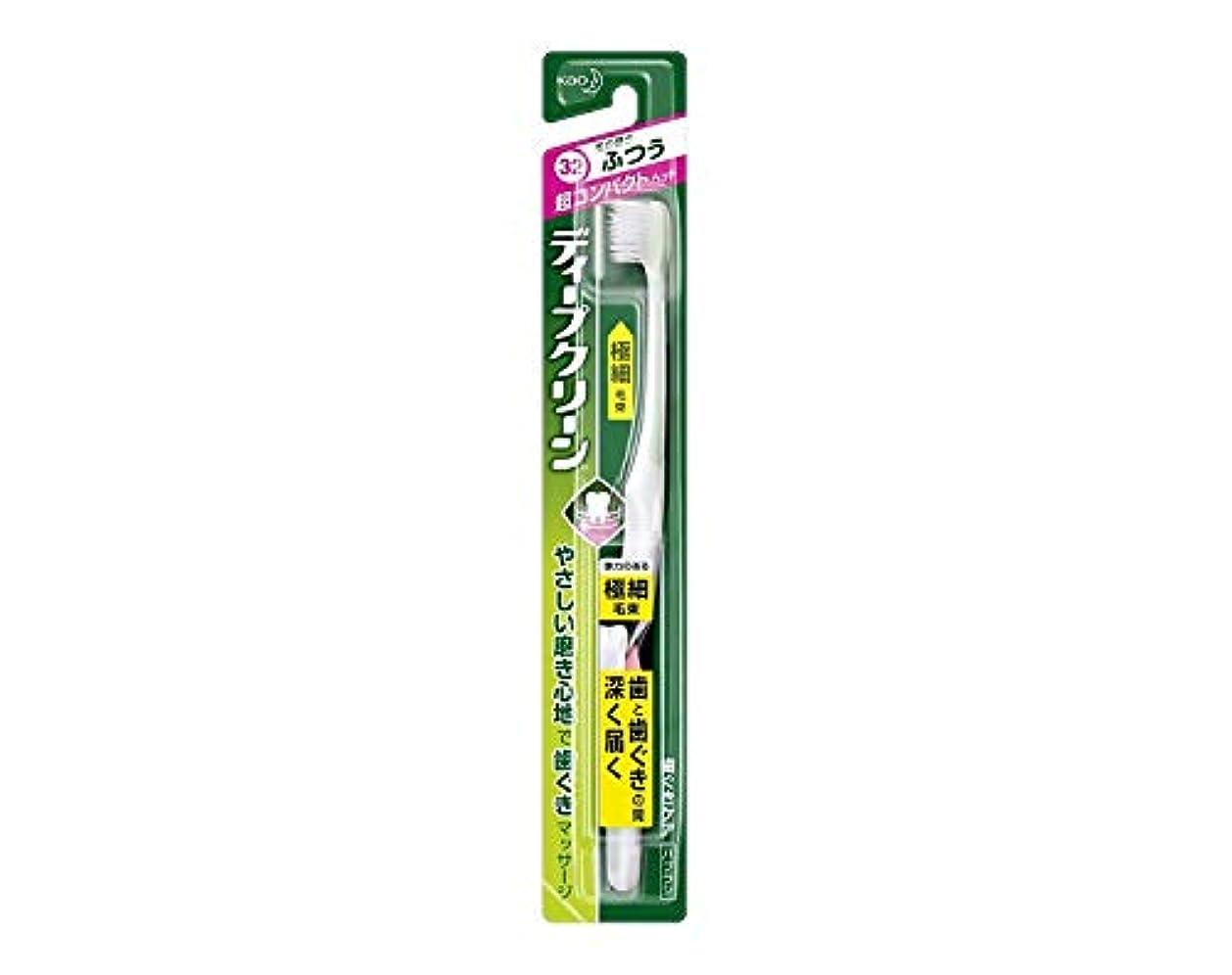 草確立しますシニス花王 ディープクリーン ハブラシ コンパクト ふつう 1本 Japan